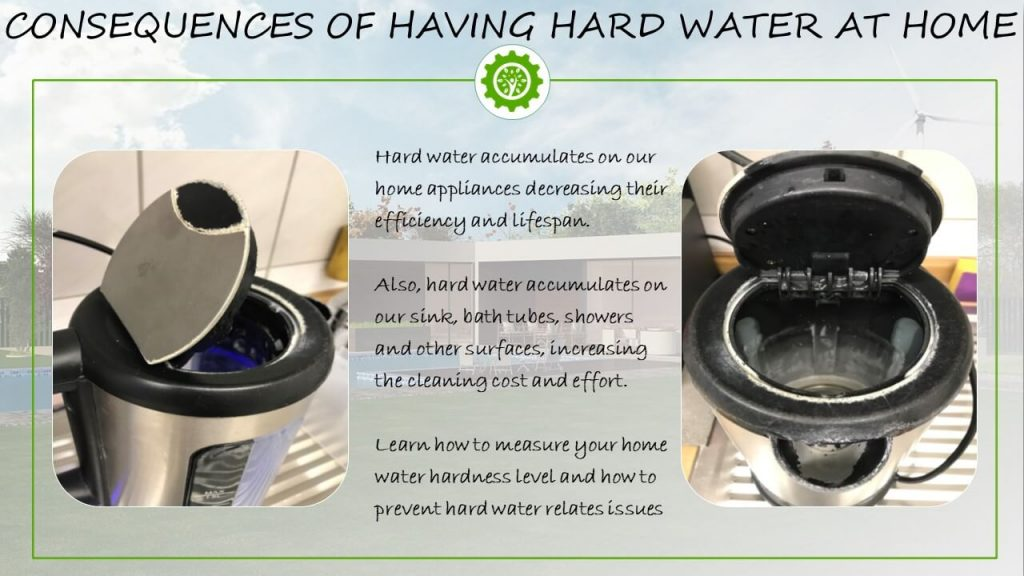 Consequences of having hard water at home