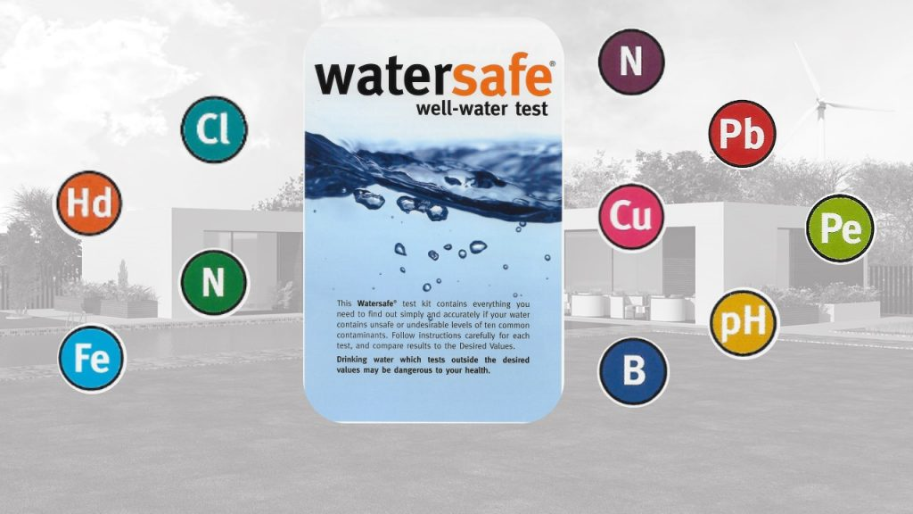 Water safe - Test your home water for harmful substances