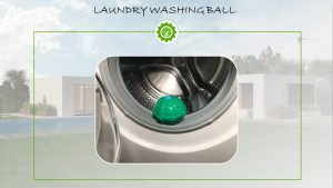 Laundry washing ball - Washing without detergent