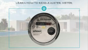 Learn how to read a water meter and save water