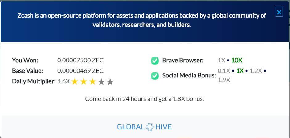 Global Hive screenshot
