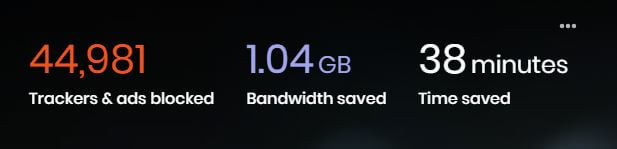 Brave browser bandwidth
