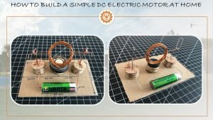 Simple electric motor